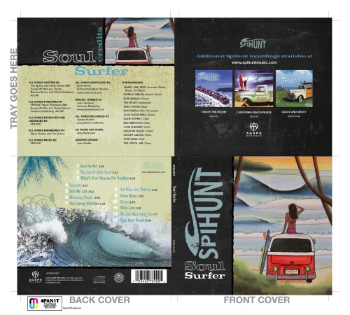 Soul Surfer CD Art Work Almost Final